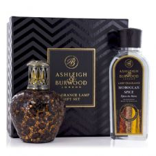Ashleigh & Burwood Fragrance Lamp Gift Set - African Queen & Moroccan Spice Lamp Oil